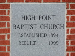 High Point Baptist Church Cemetery
