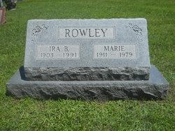 Marie <i>Helm</i> Rowley