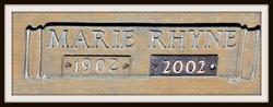 Marie <i>Rhyne</i> Jenkins