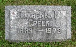 Clarence F Creek