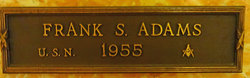 Frank S Adams