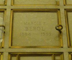 Margie E <i>Burnett</i> Berol