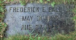 Frederick E Ball