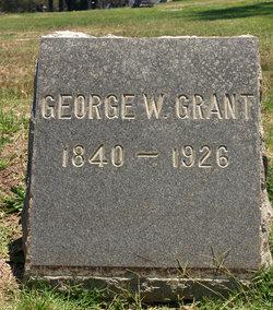 George W Grant