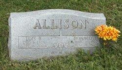 Lois B <i>Pierson</i> Allison