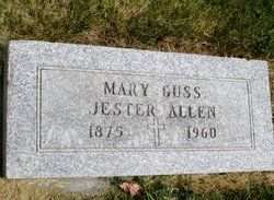 Mary <i>Jester</i> Allen