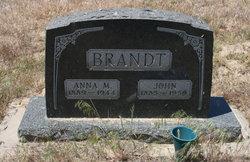 Anna Margaretha <i>Meyer</i> Brandt