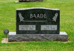 Ida Ann <i>Zieman</i> Baade