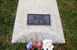 Lyle Ottis Davidson