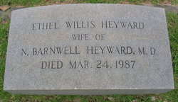 Ethel Vernon <i>Willis</i> Heyward