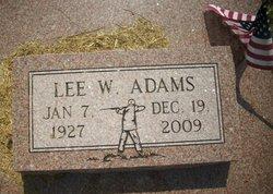 Lee Winnie Adams