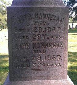 Mary A Hannegan