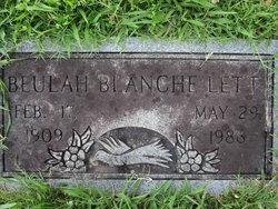 Beulah Blanche Lett