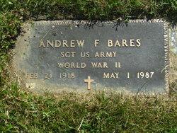 Andrew F Bares