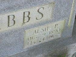 Mary Ann Alsie Alsie <i>Peevyhouse</i> Dabbs