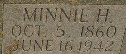 Minnie H. <i>Foster</i> Blevins