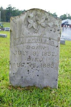 W. A. McCrummen