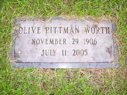 Candis Olive <i>Pittman</i> Worth
