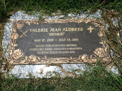 Valerie Jean <i>Henrie</i> Aldrete