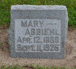 Mary <i>Yost</i> Abbiehl