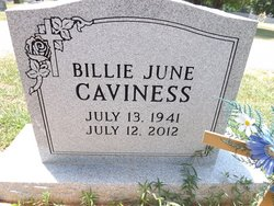 Billie June <i>Jones</i> Caviness