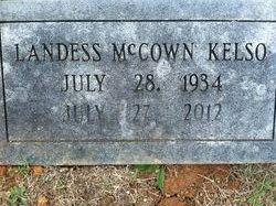 Landess <i>McCown</i> Kelso