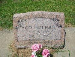 Wanda Faye <i>Iley</i> Bailey
