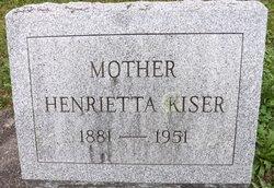 Henrietta <i>Southard</i> Kiser