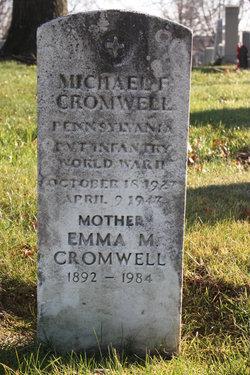 Mrs Emma Mary <i>Miller</i> Cromwell