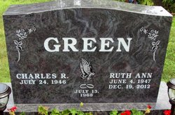 Ruth Ann <i>Cline</i> Green