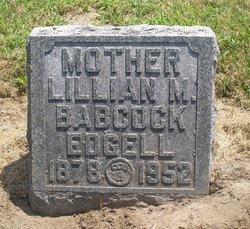 Lillian M <i>Blackburn</i> Edgell