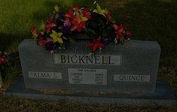 Alma S <i>Pitts</i> Bicknell