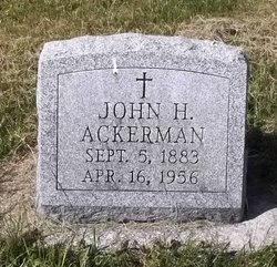John H Ackerman