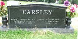 Dr Robert A. Carsley