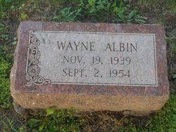 Wayne Albin