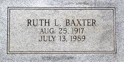 Ruth Louise <i>Daniel</i> Baxter