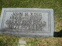 Sarah Ann <i>Read</i> King