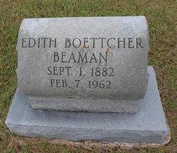 Edith <i>Boettcher</i> Beaman