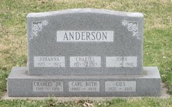 Gust Adolph Anderson