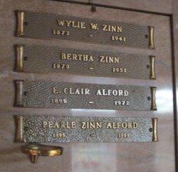 Pearle <i>Zinn</i> Alford