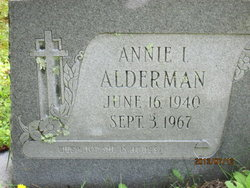 Annie Irene <i>Ward</i> Alderman