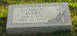 Lucille V. <i>Fitzwater</i> Ayers