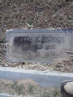 Nettie <i>Knight</i> Bigham