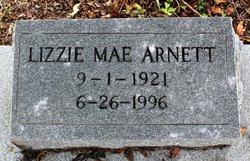 Lizzie May <i>Deloach</i> Arnett