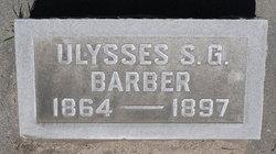 Ulysses S. G. Barber