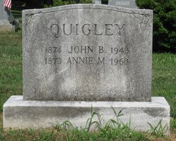 Annie M <i>Welty</i> Quigley
