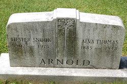 Mary Hester <i>Snook</i> Arnold