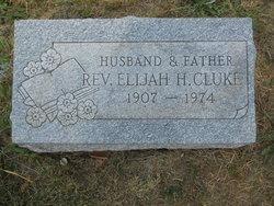 Rev Elijah H. Cluke