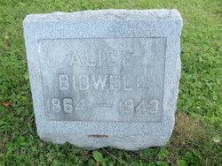 Alice <i>Peterson</i> Bidwell