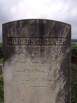 Joseph Greenwood Baker